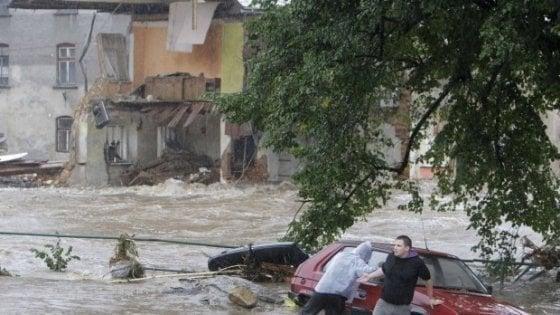 Il clima che cambia ridisegna la mappa delle alluvioni in Europa