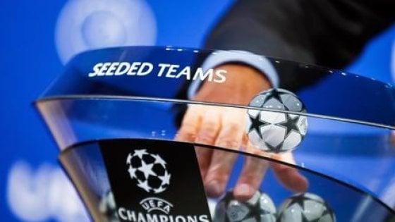 Champions: Juve, Napoli, Inter e Atalanta scoprono le loro rivali