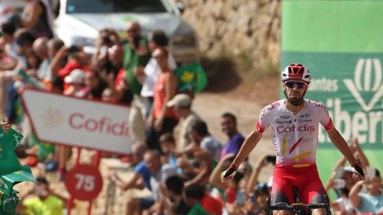 Ciclismo, Vuelta: a Herrada la sesta, Teuns in rosso, Uran e Roche cadono e si ritirano
