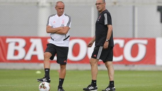 Juventus, Sarri non sarà in panchina contro il Napoli. Chiellini out: sarà operato