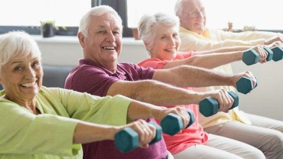 Dallo sport arrivano benefici anche se si inizia a 80 anni
