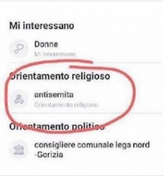 """Su Facebook si definisce """"antisemita"""", bufera sul consigliere leghista"""