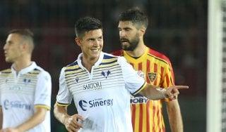Lecce-Verona 0-1: Pessina lancia gli scaligeri, salentini ancora a secco