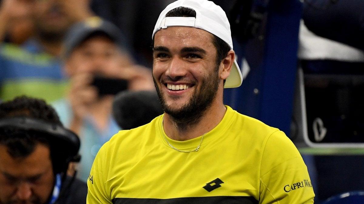 """Tennis, Us Open; Berrettini ai quarti: """"Non voglio fermarmi"""""""