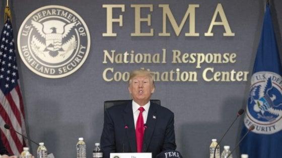 Per Trump un uragano di tweet su Dorian: 122 solo nel fine settimana. Ma su alcuni sbaglia (e crea il caos)