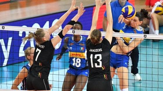 """Volley, Europei donne: l'Italia punta la Russia. """"Abbiamo chance, ma bisogna crescere"""""""