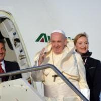 Papa Francesco in viaggio verso l'Africa: prima tappa Mozambico