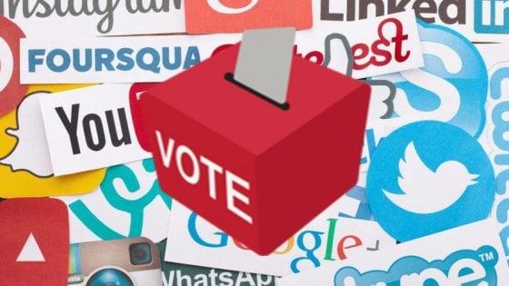 Ecco come i social network influenzano risultati elettorali