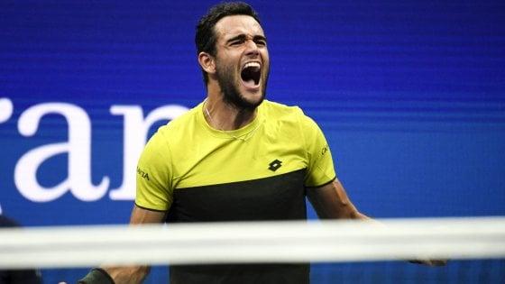 """Tennis, Us Open; la gioia di Berrettini: """"Ce l'ho fatta grazie a testa e cuore. Nadal? Sarò pronto"""""""