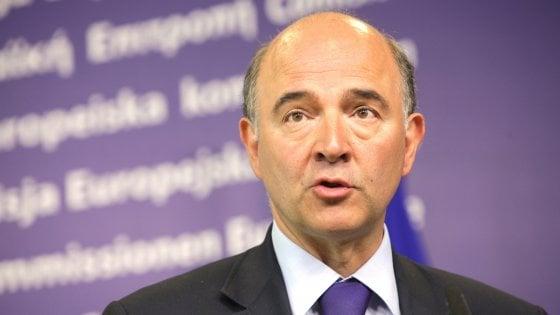 ll commissario Ue uscente agli Affari economici, Moscovici
