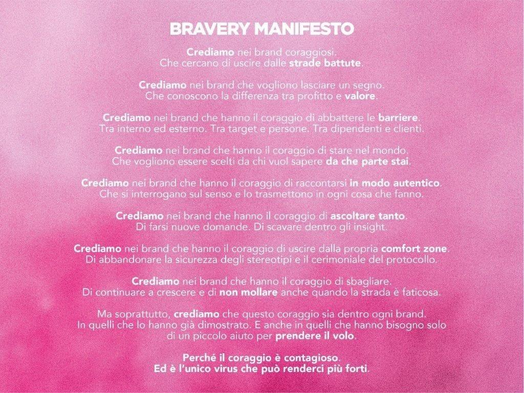 Brand Bravery Manifesto