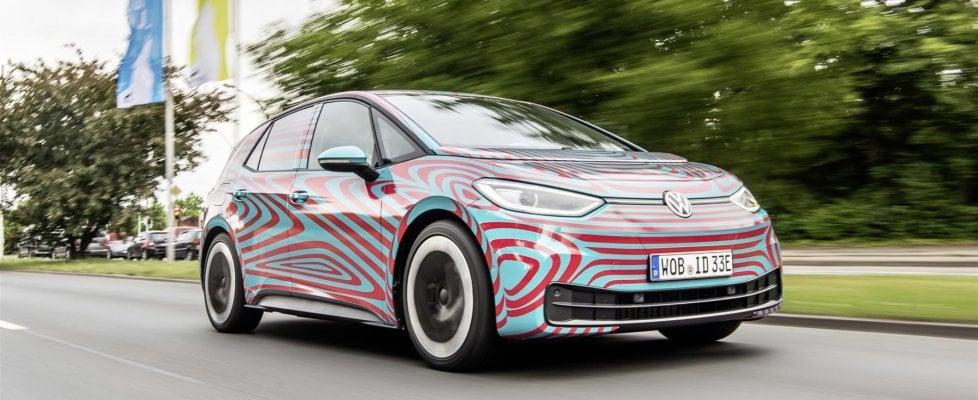 Volkswagen, già 30 mila prenotazioni per l'elettrica ID