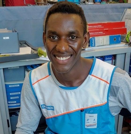 Omar, profugo-runner, dal Gambia all'Italia senza mai smettere di correre