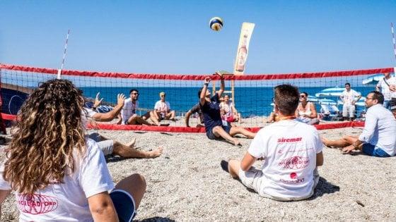 Parolimparty, lo sport in spiaggia è una gioia per tutti