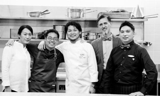 Renato Disarò, restaurant manager nippo-italiano al Faro di Tokyo