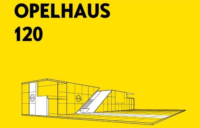 """""""Opelhaus 120"""", lo stand Opel al salone di Francoforte"""