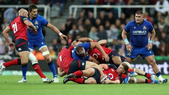 Calendario Mondiali Rugby 2019.Rugby Italia Travolta Dall Inghilterra Nell Ultimo Test