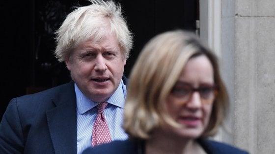 """Brexit, la ministra Rudd si dimette e accusa Johnson: """"Ci stiamo preparando solo al No Deal"""""""