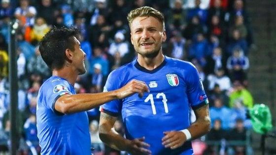 Calendario Euro 2020 Italia.Qualificazioni Euro 2020 Finlandia Italia 1 2 Immobile E