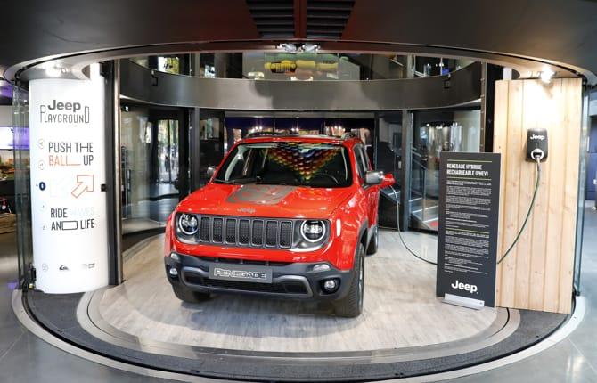 La Jeep Renegade PHEV in mostra Parigi
