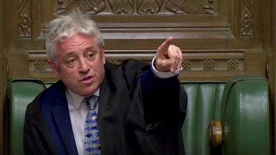 Brexit, lo speaker Bercow annuncia il ritiro. Stop a Parlamento da stasera