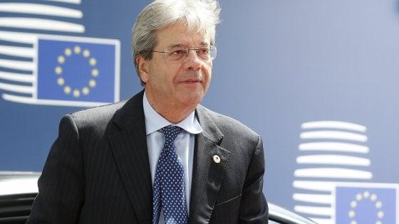 Fonti Ue, Gentiloni commissario agli Affari economici