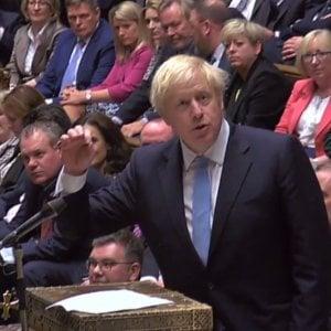 """Brexit, secondo no del Parlamento a elezioni anticipate. Johnson: """"Oltraggio al popolo"""""""