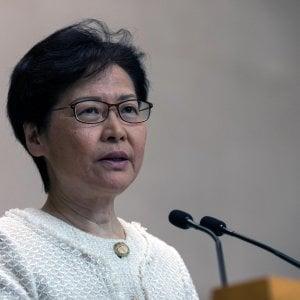 Hong Kong, la governatrice contro ingerenze Usa