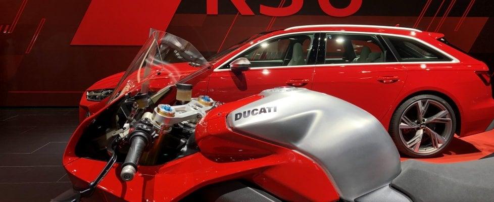 Sorpresa Ducati: al Salone di Francoforte spunta una moto