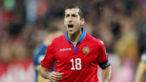 Mkhitaryan: ''La Roma ha un grande futuro, in attacco gioco ovunque''