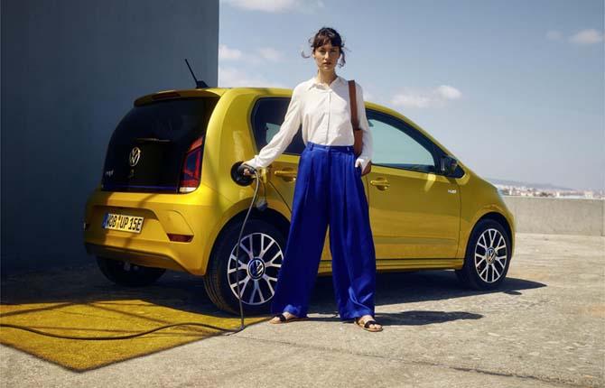 Volkswagen e-up, più autonomia e prezzo ridotto