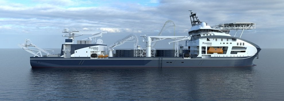 Leonardo da Vinci, ecco la nuova regina delle navi posa-cavi