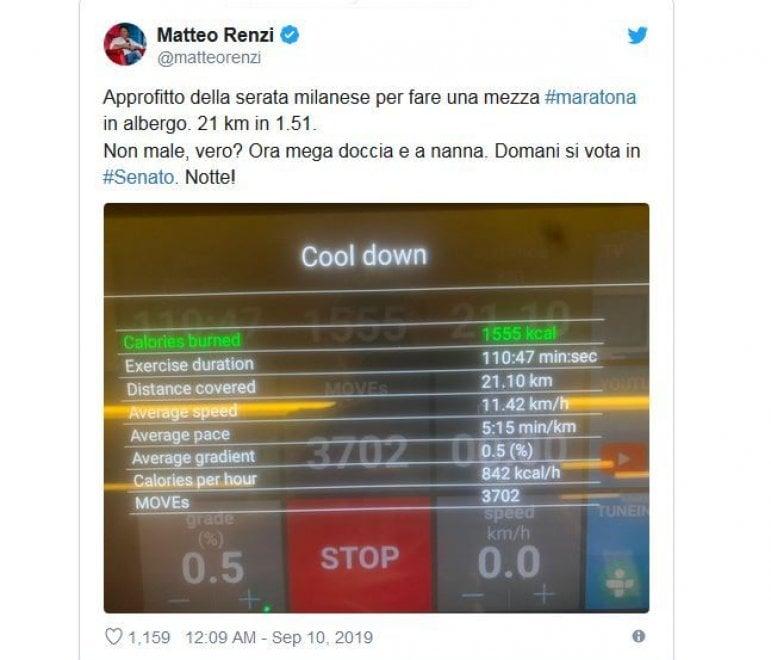 La mezza maratona notturna di Renzi in attesa del voto in Senato