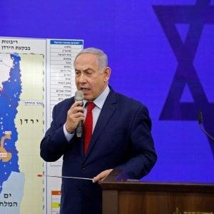 Medio Oriente, Benjamin Netanyahu propone di annettere la Valle del Giordano. Protestano i Paesi arabi