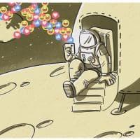 I 50 anni dell'allunaggio, illustratori di tutto il mondo in mostra a Salsomaggiore