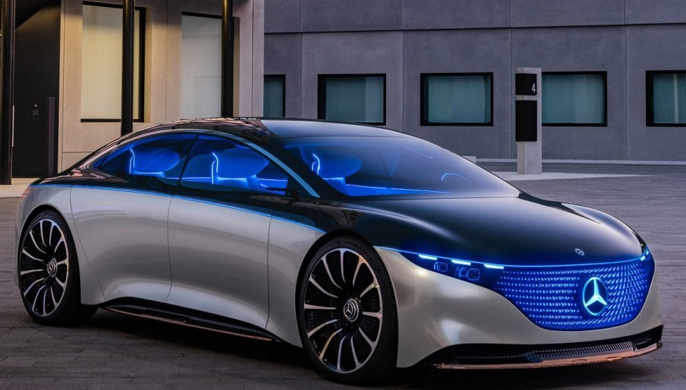Mercedes Vision EQS Concept