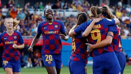 Calcio donne, Juve sconfitta dal Barcellona nei sedicesimi di Champions