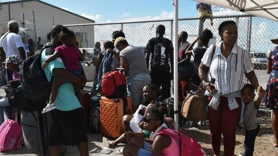 Dorian, Trump non concederà il permesso di soggiorno temporaneo agli sfollati delle Bahamas