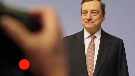 Mario Draghi, governatore uscente della Banca centrale europea