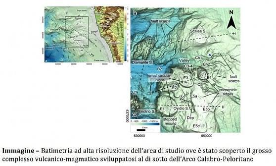Nel Mar Tirreno c'è un complesso vulcanico finora sconosciuto