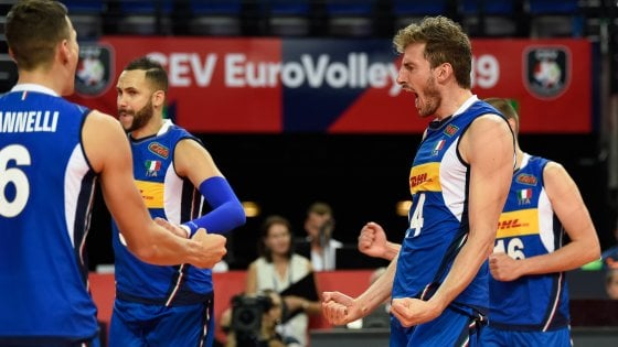 Calendario Italia Basket Europei.Volley Europei L Italia Parte Senza Problemi 3 0 Al