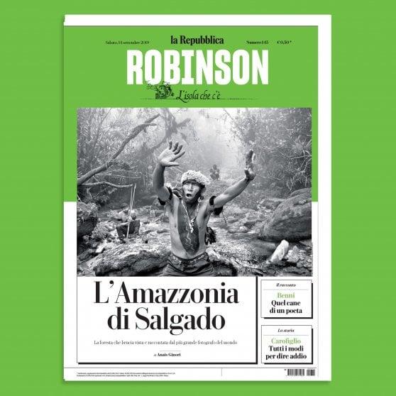 L'Amazzonia  di Salgado è solo su Robinson