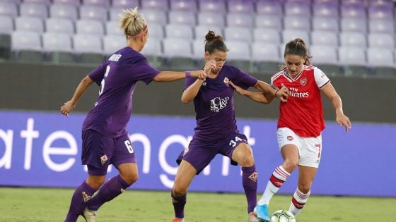 Champions League donne, Fiorentina travolta 4-0 in casa dall'Arsenal