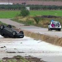 Spagna, forte maltempo nel sud-est: morte tre persone travolte dall'acqua