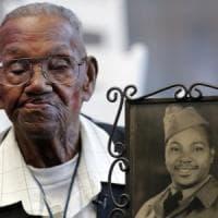 New Orleans celebra il più anziano veterano americano vivente della Seconda Guerra...