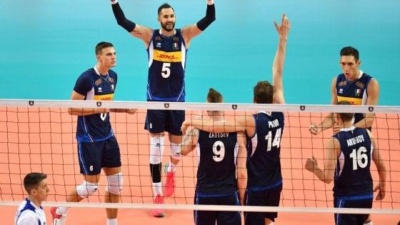 Volley, Europei: l'Italia soffre, ma piega la Grecia e resta a punteggio pieno