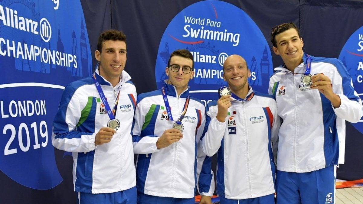 Mondiali di nuoto paralimpico, Italia seconda nel Medagliere con 14 ori, 14 argenti e 8 bronzi