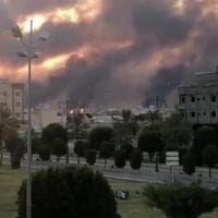 Attacco al petrolio dell'Arabia Saudita, colpito dai droni l'impianto di lavorazione più...