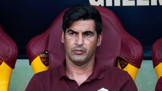 Fonseca: ''Voglio un'altra Roma, Mkhitaryan pronto per giocare''