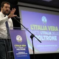 """Legge elettorale, Salvini ai governatori di centrodestra: """"Chiedete referendum per..."""
